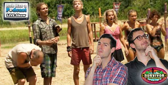 Rob Cesternino and Stephen Fishbach recap episode 12 of Survivor Philippines LIVE