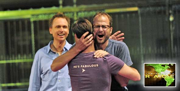 How did the Beekman Boys make one big final push in The Amazing Race?