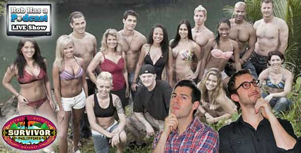 Rob Cesternino and Stephen Fishbach Recap the Survivor Philippines Finale LIVE after the Reunion