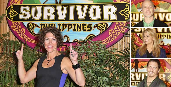 Survivor Exit Interviews with the Final Four of Survivor Philippines: Winner Denise Stapley, Malcolm Freberg, Lisa Whelchel and Mike Skupin