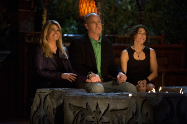 Lisa Whelchel, Mike Skupin and Denise Stapley: The Survivor Philippines Final 3