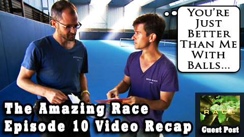 Eric Curto's Amazing Race Episode 10 Video Recap