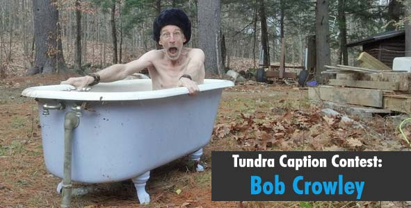 Caption Bob Crowley in a Tundra Hat
