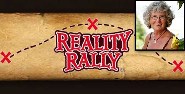Gillian Larson, creator of the Reality Rally