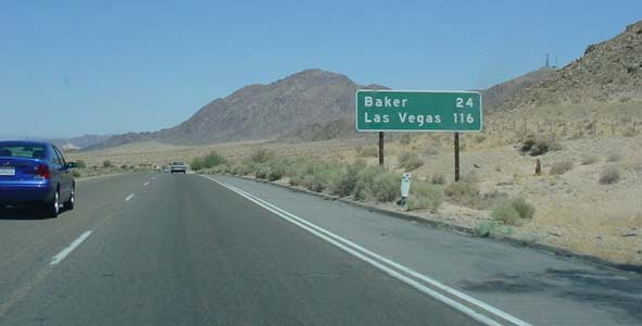 Rob and Nicole on the Road to Vegas