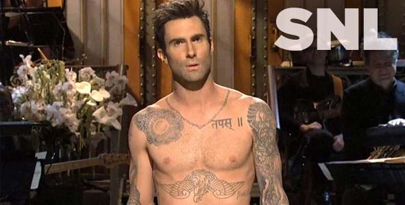 Adam Levine hosts an all new Saturday Night Live