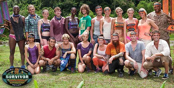 The cast of Survivor Caramoan gets Previewed on Rob Has a Podcast