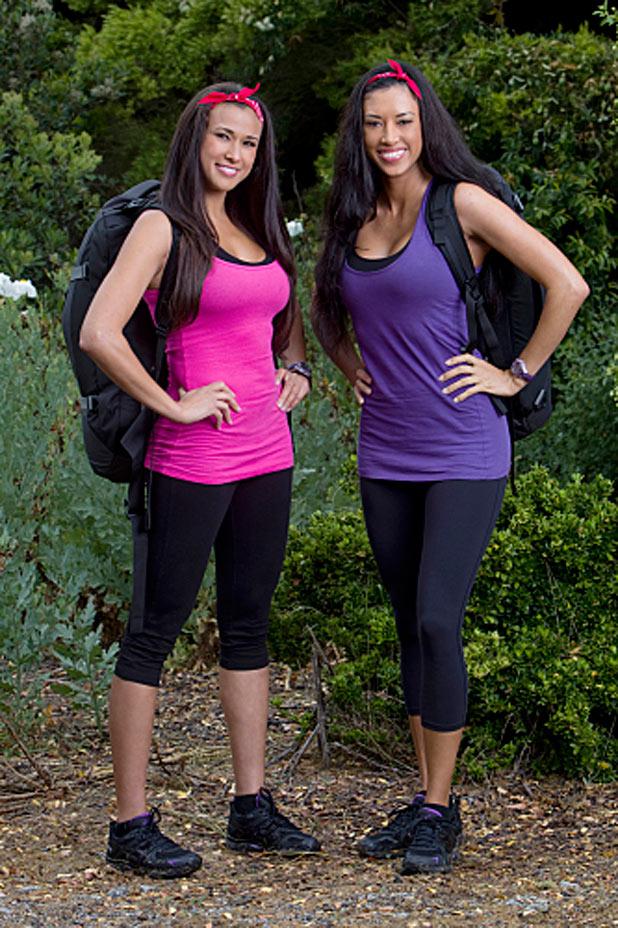 Amazing Racer Kaylani and Lisa