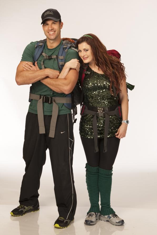 Brendan and Rachel on The Amazing Race