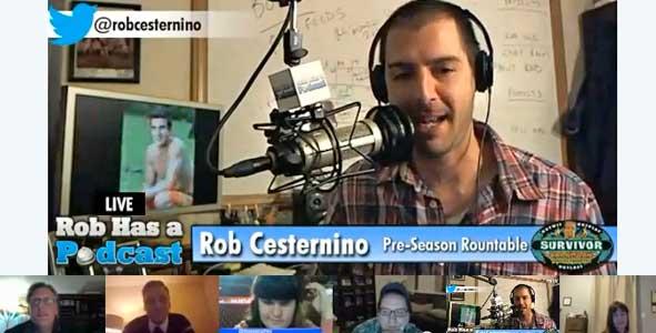 Rob Ceesternino hosts the Survivor Caramoan Pre-Season Roundtable