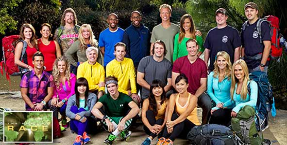 The cast of the Amazing Race 22