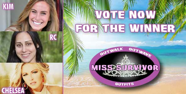 Cast your vote for the winner of 2013 Miss Survivor Pageant