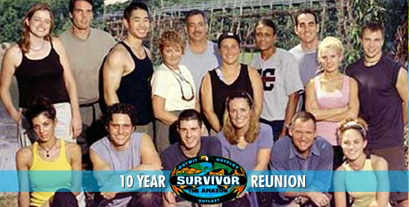 The cast of Survivor: The Amazon is reuniting after 10 Years