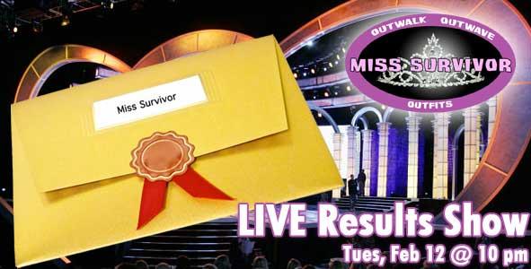 The LIVE 2013 Miss Survivor Results Show