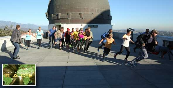 The teams of the Amazing Race 22 are off and Running
