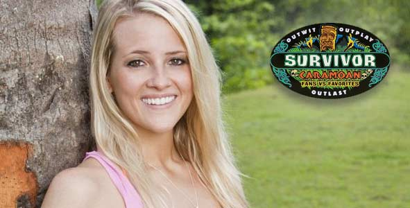 The second player voted out from Survivor Caramoan, Allie Pohevitz spoke on Rob Has a Podcast