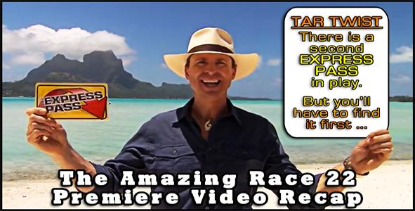 Amazing Race 22 Video Recap Episode 1