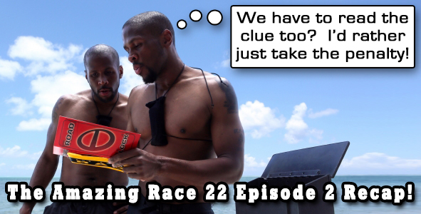 Eric Curto Recaps Episode 2 of Amazing Race 22