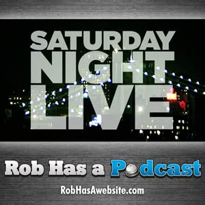 Saturday Night Live Podcast from Rob Cesternino