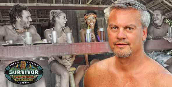 Marty Piombo discusses his Nicaragua castmate Brenda on Survivor Caramoan