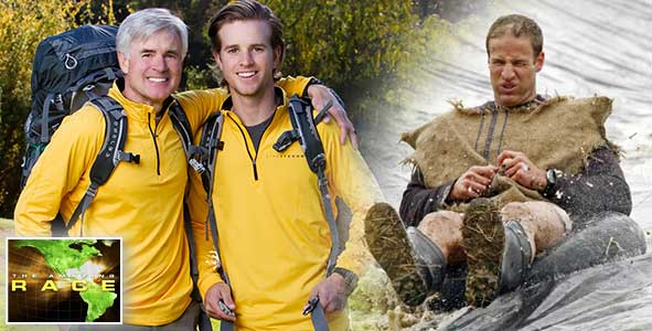 Recapping the famous achilles tendon of David and Connor on The Amazing Race