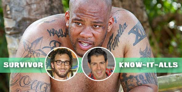 Shamar Thomas leaves the game on the latest episode of Survivor