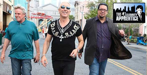 Gary Busey, Dee Snider and Penn Jillette on the All-Star Celebrity Apprentice