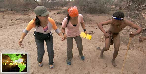The Kalahari Bushmen were featured on this week's episode of The Amazing Race 22