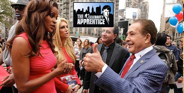 Farouk returns on the All-Star Celebrity Apprentice
