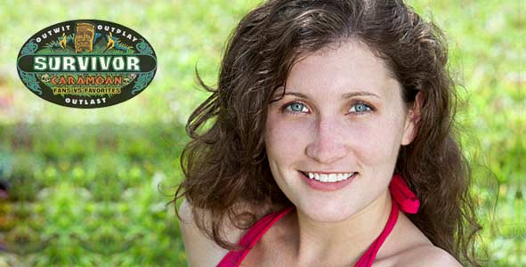 Julia Landauer is the latest player voted off of Survivor Caramoan
