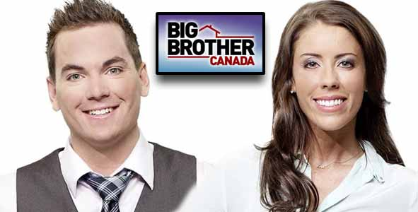 Tom Plant and Liza Stinton from Big Brother Canada