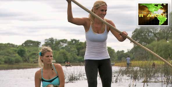 The Teams put Goats on Boats in Episode 7 of the Amazing Race