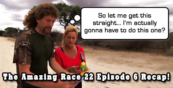 Amazing Race 22 Episode 6 Video Recap