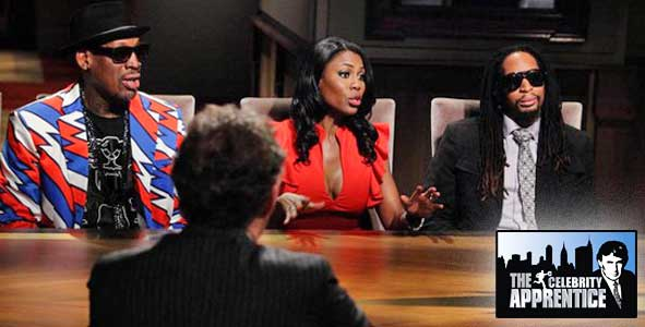 Dennis Rodman, Omarosa and Lil Jon Duke it out in the Boardroom on Celebrity Apprentice