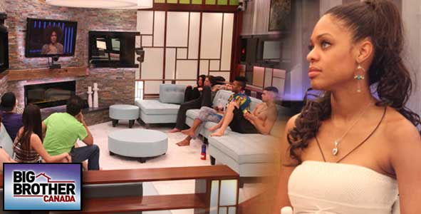 Topaz got screwed by the Instant Eviction twist on Big Brother Canada