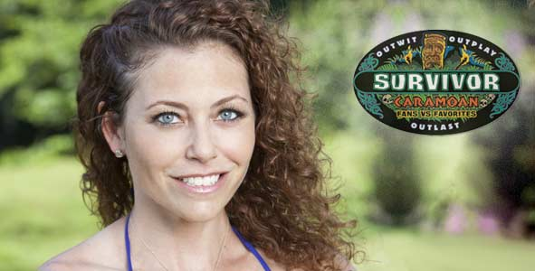 Corinne Kaplan found out that it was indeed blindside time on Survivor Caramoan