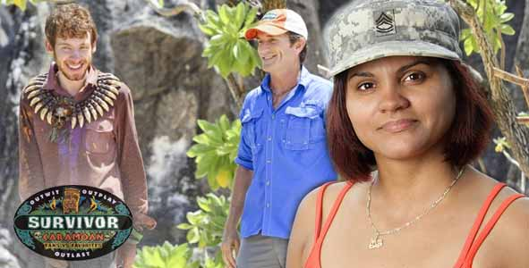 Sandra Diaz-Twine discusses her love of Cochran on Survivor Caramoan