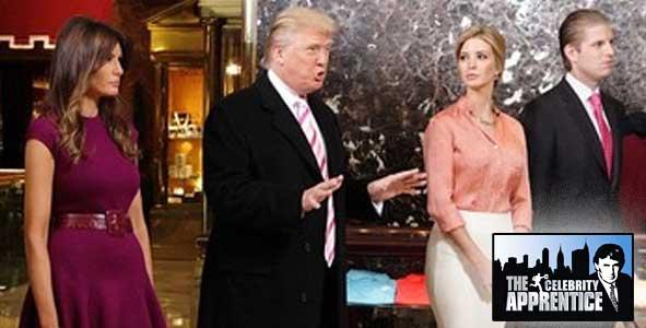 The Trump Family on Celebrity Apprentice