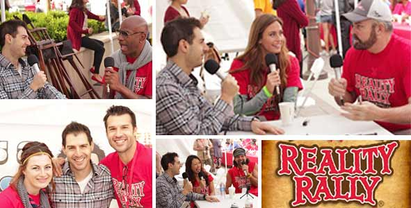 LIVE interviews from the 2013 Reality Rally
