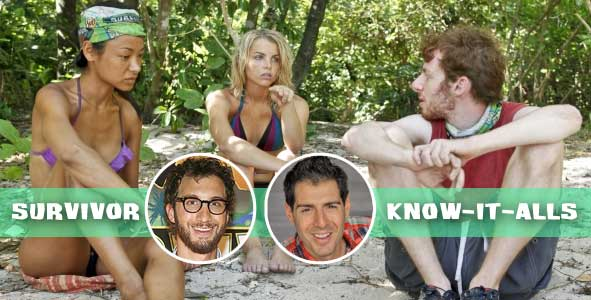 The Know-It-alls comment on the games of Brenda, Andrea and cochran on Survivor Caramoan
