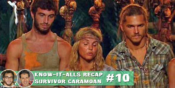 Recapping Malcolm's double idol play to save the Three Amigos and vote our Phillip Sheppard on Survivor Caramoan