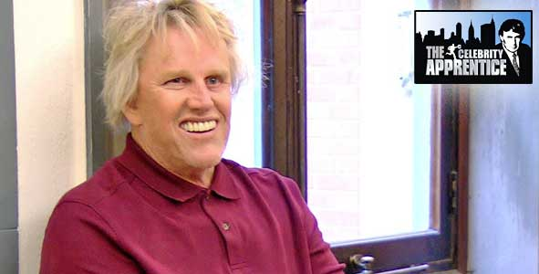 A man more dangerous than a shark fart, Gary Busy on the Celebrity Apprentice