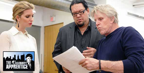 Gary Busey dreams of being a mechanical dog on The Celebrity Apprentice