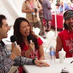 Rob with Christina Cha and Troyzan