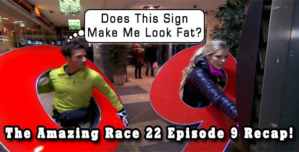 The amazing race 22 episode 7 recap male models picture