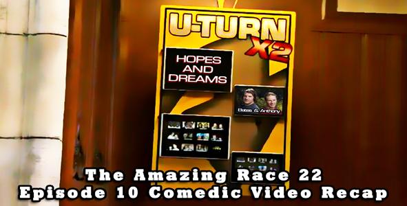 Eric Curto's Video Recap of Episode 10 of Amazing Race
