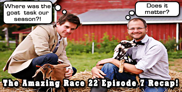 Video Recap of Episode 7 of Amazing Race 22