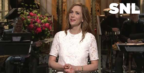 Kristen Wiig returns to host SNL for the first time