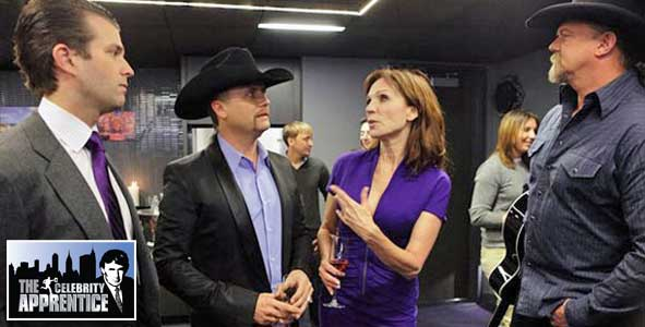 Marilu Henner creates the King's Suite in the Foxwoods task before getting fired on Celebrity Apprentice