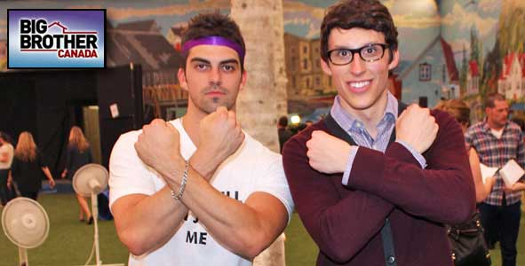 Peter and Alec are the Sheyld from Big Brother Canada